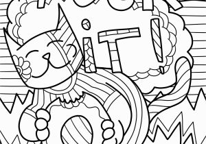 Dog and Cat Coloring Pages Printable Cat Coloring Pages Free Printable Awesome Cool Od Dog Coloring Pages