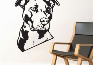 Dog Murals for Wall Bulldog Wall Decal Vinyl Sticker Cute Dog Wallpaper Wall Artdecor
