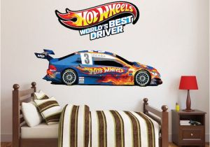Dog Murals for Wall Hot Wheels Boys Room Decals Hot Wheels Wallpaper Kids Room Wall