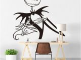Dog Murals for Wall Jack Skellington Wall Sticker Kids Room Bedroom Nightmare before