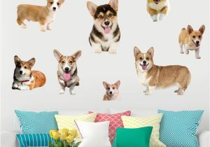 "Dog Murals for Wall Universe Of Goods Buy ""welsh Corgi Pembroke Puppy Dog Animal Wall"