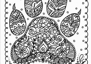 Dog Online Coloring Pages Instant Download Dog Paw Print You Be the Artist by