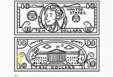 Dollar Bill Coloring Page Printable 19 Beautiful Dollar Bill Coloring Page Printable