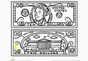 Dollar Bill Coloring Page Printable 19 Beautiful Dollar Bill Coloring Page Printable