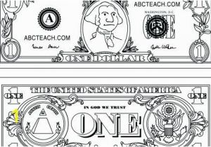Dollar Bill Coloring Page Printable Dollar Bill Coloring Page Printable Inspirational Gallery Money