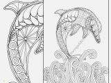 Dolphin Coloring Pages for Kids Baby Animal Coloring Pages Best Easy Dolphin Coloring Page Adult