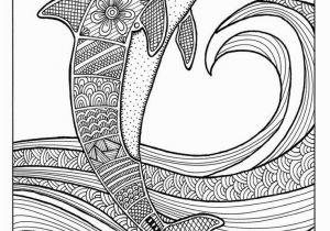Dolphin Coloring Pages for Kids Free Colouring Pages for Grown Ups Dolphins Coloring