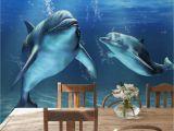 Dolphin Wall Mural Decals 48 ] Underwater Ocean Wallpaper Murals On Wallpapersafari