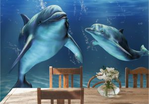 Dolphin Wall Murals for Bedrooms Underwater Ocean Wallpaper Murals Wallpapersafari
