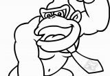 Donkey Kong Mario Kart Coloring Pages Mario Coloring Pages Free Printable Inspirational Donkey Kong