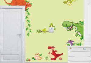 Door Murals Ebay Dinosaur Wall Art Home Decorations Animal Stickers Kids Room Cartoon