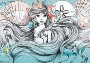 Door Murals Ebay Little Mermaid Ariel Art Silk Poster 24x36inch 24x43inch 0585 Cheap
