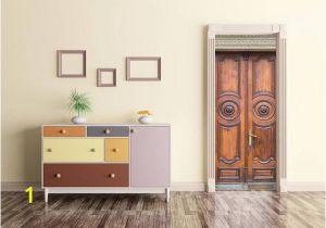 Door Murals Ebay Wooden Door Decal Door Wrap Self Adhesive Decor Peel and Stick
