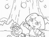 Dora and Boots Coloring Pages Dora and Boots are Near Mount Coloring Pages Dora the