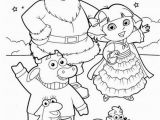 Dora and Boots Coloring Pages Dora Explorer Winter Coloring Pages