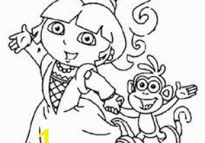 Dora and Boots Coloring Pages to Print 167 Best Dora Coloring Pages Images