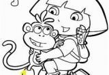 Dora the Explorer Coloring Pages Pdf 92 Best Birthday Images