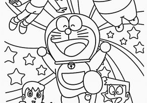Doraemon Coloring Pages to Print Cartoon Coloring Book Pdf In 2020