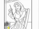 Dorcas Helps Others Coloring Page 7 Best Peter Raises Dorcas From Dead Images