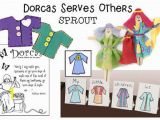 Dorcas Helps Others Coloring Page Dorcas Sunday School Lesson Craft and Activity Ideas