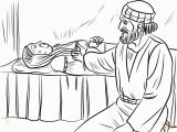 Dorcas In the Bible Coloring Pages Peter Heals Dorcas Coloring Page