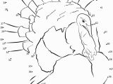 Dot to Dot Thanksgiving Coloring Pages Thanksgiving Dot to Dot Coloring Pages at Getcolorings