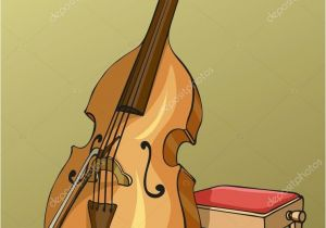Double Bass Coloring Page Double Bass Stock Vectors Royalty Free Double Bass Illustrations