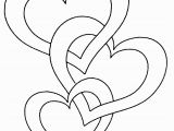 Double Heart Coloring Pages 55 Heart Coloring Pages