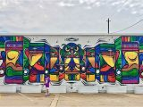 Downtown Houston Mural Wall Guardian Wall Mural 2201 Preston St Houston Tx