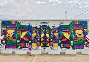 Downtown Houston Mural Wall Guardian Wall Mural 2201 Preston St Houston Tx