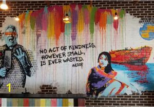 Downtown Houston Mural Wall Inspiration Wall Picture Of Peli Peli Kitchen Houston