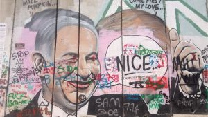 Dpi for Wall Mural File Bethlehem Wall Graffiti Netanyahu Wikimedia Mons
