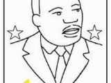 Dr Martin Luther King Jr Coloring Pages for Preschoolers Martin Luther King Color Sheet