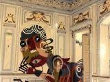 Dr who Mural Rekaone Painted at This Untouched Abandoned Chateau at An
