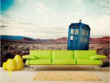 Dr who Tardis Wall Mural Tardis Wall Mural for Kid Doctor who Wall Decal for Room Sci Fi Decal for Wall Decor Wall Decor for Living Room Sku