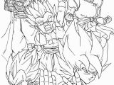 Dragon Ball Super Printable Coloring Pages Dragon Ball Super Coloring Pages Full Team