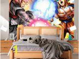 Dragon Ball Wall Mural Dragon Ball Super Wallpaper Japanischen Anime 3d Wandbild Goku Foto Wallpaepr Für Kinder Schlafzimmer Wohnzimmer sofa Tv Hintergrund Rolls