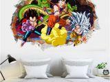 Dragon Ball Wall Mural Großhandel Sieben Dragon Ball Sun Wukong Cartoon Schlafzimmer Kinder Schlafzimmer Wasserdicht Dreidimensionale Wandaufkleber Von Dawn toy $3 52 Auf