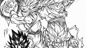 Dragon Ball Z Coloring Pages for Adults Dragon Ball Z Coloring Pages Gohan Coloring Home