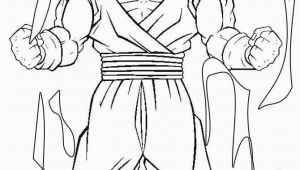 Dragon Ball Z Goku Coloring Pages Printable Printable Goku Coloring Pages for Kids