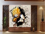 Dragon Ball Z Wall Mural Cartoon Tv sofa Background Wallpaper Living Room Bedroom