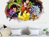 Dragon Wall Decals Murals Dragon Ball Cartoon Dragon Goku Ve A Art Mural Wall Decal