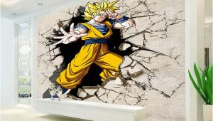Dragon Wall Decals Murals Dragon Ball Wallpaper 3d Anime Wall Mural Custom Cartoon
