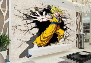 Dragon Wall Murals Large Dragon Ball Wallpaper 3d Anime Wall Mural Custom Cartoon
