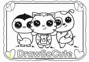 Draw so Cute Animal Coloring Pages Free Drawing Book at Getdrawings