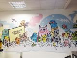Drawing Murals On Wall Mural Artist Geo Law