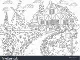 Dream House Coloring Pages Coloring Page for Kids Gingerbread House Coloring Pages