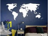 Dry Erase World Map Wall Mural 28 Best World Map Sticker Decor Images