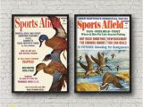 Duck Hunting Wall Murals Duck Giclee Prints Set Of 2 Duck Prints Wildlife Wall Decor