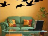 Duck Hunting Wall Murals Geese Decal Flying Geese Bird Wall Decal Woodland Nursery Decor